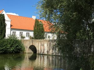 Gluecksburg Castle Bridge