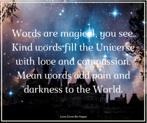 Words are magical