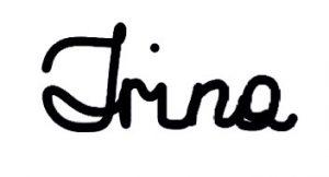 Signature Irina's