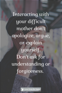 Don't apologise for being you
