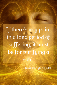 What is suffering for?