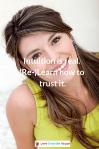 Learn to trust your sensations.