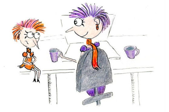 Invite your inner critic for tea